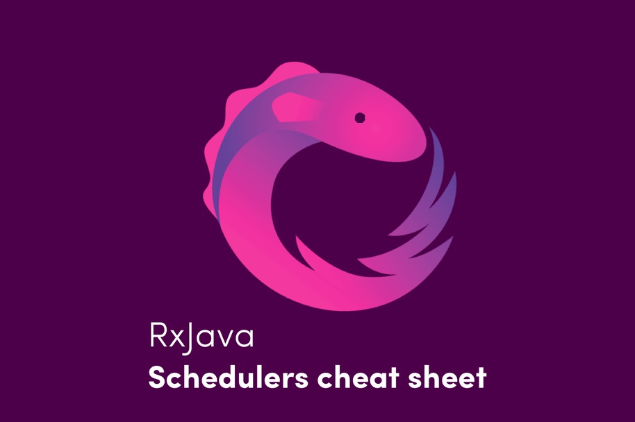RxJava Schedulers Cheat Sheet